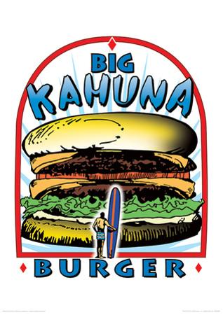 Tarantino (Big Kahuna Burger) Reservoir Dogs Fictional Advertisment Movie Poster