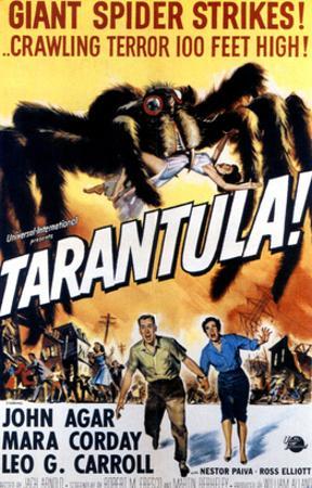 Tarantula, John Agar, Mara Corday, 1955