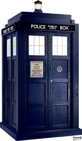 Tardis - Doctor Who Lifesize Standup