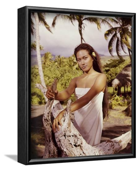 Tarita, Mutiny on the Bounty (1962)--Framed Photo