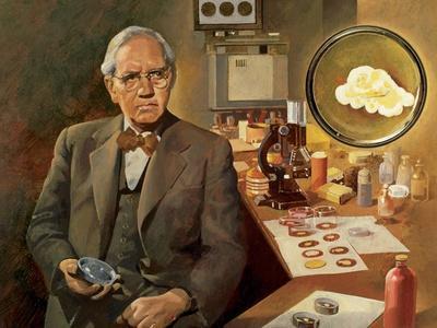 Alexander Fleming (1881-1955). British Microbiologist.
