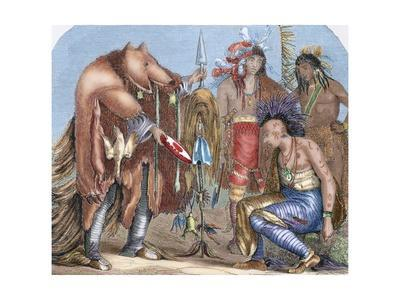 Indians. Iroquois and Chippewa Doctors.