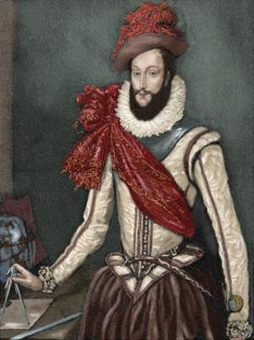 Sir Walter Raleigh (C. 1554-1618). by Tarker