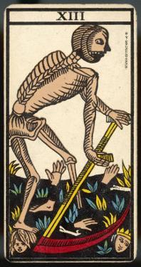 Tarot: 13 La Mort, Death