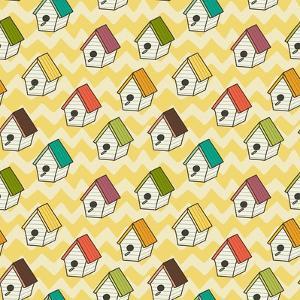 Birdhouses Pattern by TashaNatasha