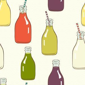 Bottles Pattern by TashaNatasha