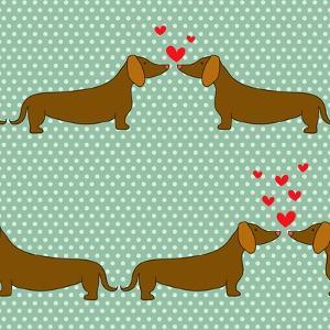 Cartoon Dogs Pattern. by TashaNatasha