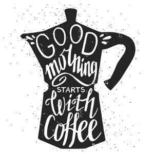 Coffee Lettering by TashaNatasha