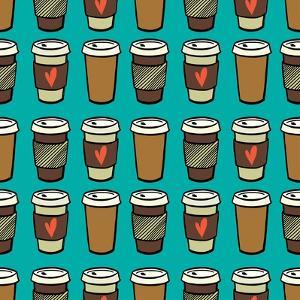 Coffee Pattern. by TashaNatasha