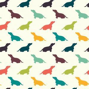 Dogs Pattern. by TashaNatasha