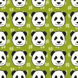 Panda Pattern by TashaNatasha