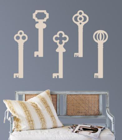Taupe Keys