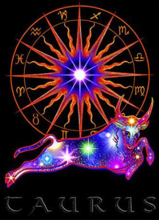 Taurus Astrological Sign Art Print Poster