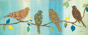 Bird Chat II by Tava Studios