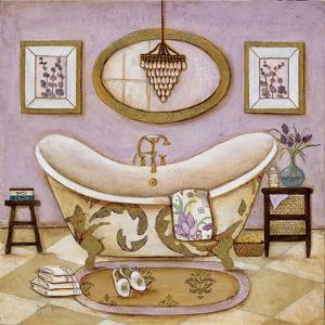 Lavender Bath II by Tava Studios