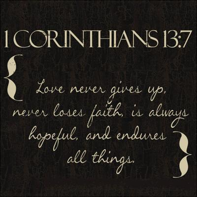 1 Corinthians 13-7 by Taylor Greene