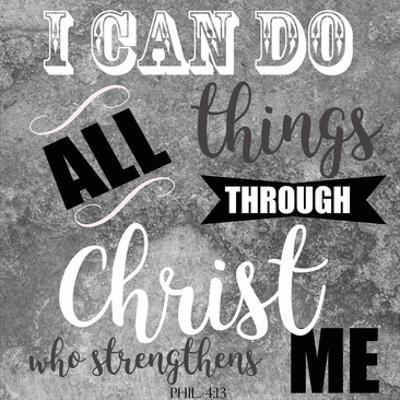 Christ Strengthens by Taylor Greene