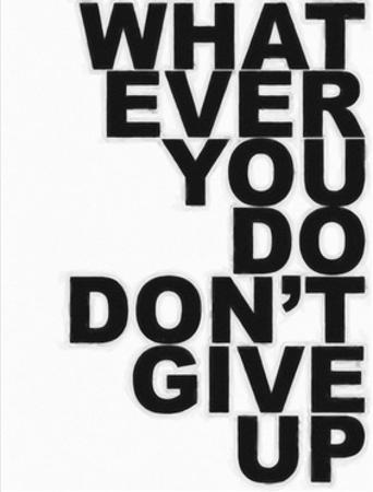 Don't Give Up by Taylor Greene