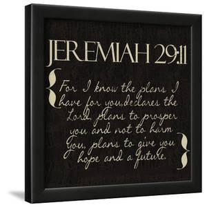 Jeremiah 29-11 by Taylor Greene