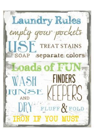 Laundry Rules by Taylor Greene
