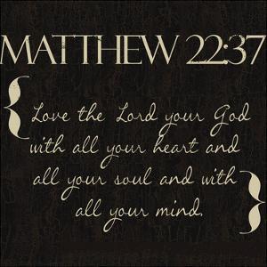 Matthew 22-37 by Taylor Greene