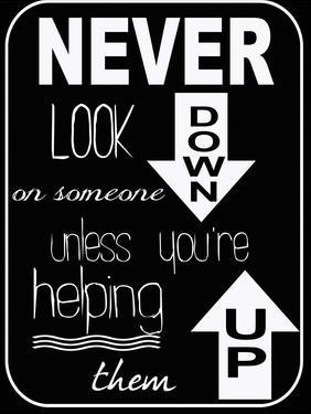 Never Look Down by Taylor Greene