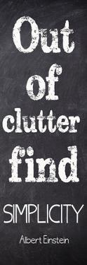 Out Of Clutter by Taylor Greene