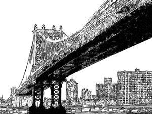 Skyline Sketch by Taylor Greene