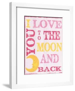 To The Moon and Back Pink by Taylor Greene