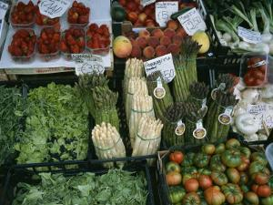 A Farmers Market Selling Vegetables in Venice, Italy by Taylor S. Kennedy