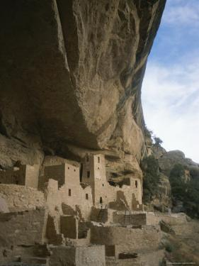 A View of Ancient Cliff Dwellings by Taylor S. Kennedy