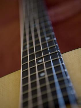 Close View of a Guitar, Annapolis, Maryland, United States by Taylor S. Kennedy