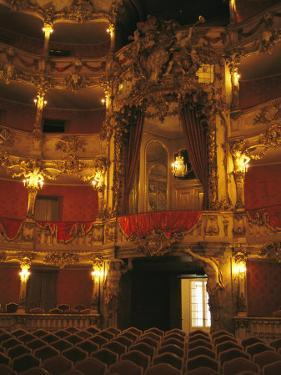 Cuvillies Theater in the Residenz Palace in Munich by Taylor S. Kennedy