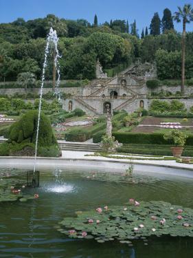 Gardens of the Villa in Collodi, Italy Where Pinnochio was Written by Taylor S. Kennedy