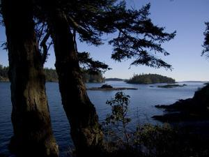 Islands Surrounding Vancouver Island in British Columbia by Taylor S. Kennedy