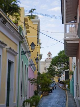 Street in Colorful Old San Juan, Puerto Rico by Taylor S. Kennedy