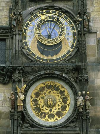 The Famous Astronomical Clock in Prague by Taylor S. Kennedy