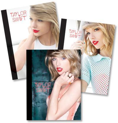 Taylor Swift Composition Notebooks - Set of 3