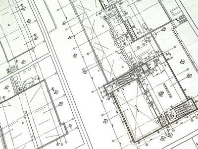 Printed Blueprint