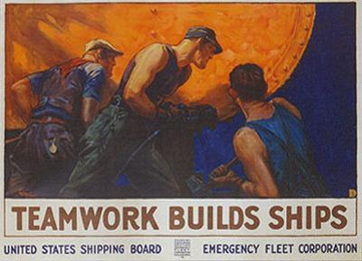 Teamwork Builds Ships