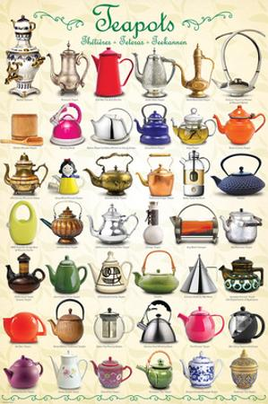 Teapots Collage