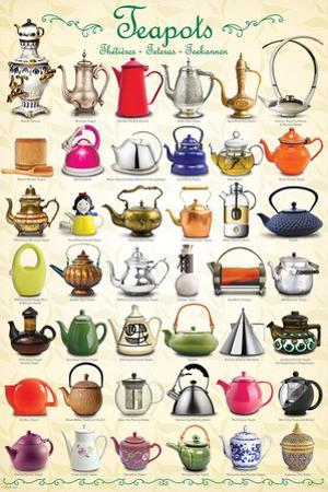 Teapots Collage