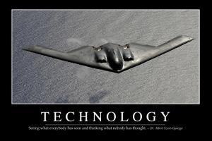 Technology: Inspirational Quote and Motivational Poster