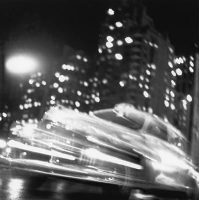 Taxi, New York Night, c.1947 by Ted Croner
