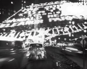 Times Square Montage, c.1947 by Ted Croner