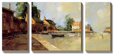 Morning Harbor by Ted Georschner