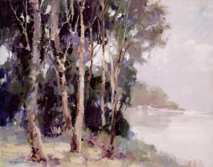 Misty Morning by Ted Goerschner
