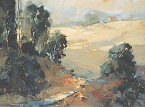 Santa Ynez Valley Morning by Ted Goerschner