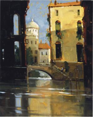 Sunday Morning, Venice by Ted Goerschner