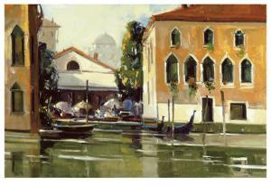 Venice Cafe by Ted Goerschner